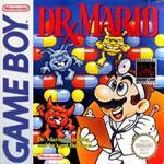 Dr. Mario gameboy box cover