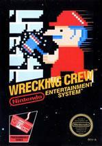 Wrecking Crew on the NES box cover