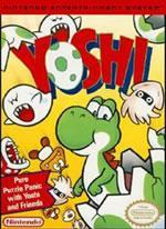 Yoshi box cover on the NES