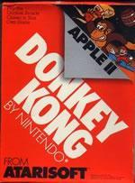 Donkey Kong again?! Yep! This time on the Apple II