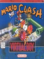 Mario Clash on the VBoy Box Cover