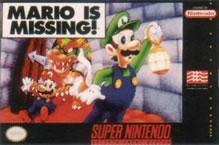 Nooo! It's Mario is Missing again, this time on the SNES