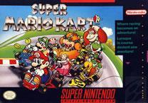 Mario Kart SNES Box cover