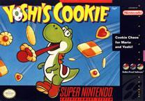 Yoshi's Cookie SNES box cover