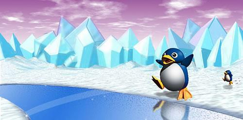 Yeaaah! It's the Penguins from Super Mario 64