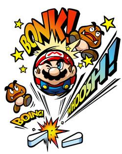 Mario And Two Goombas