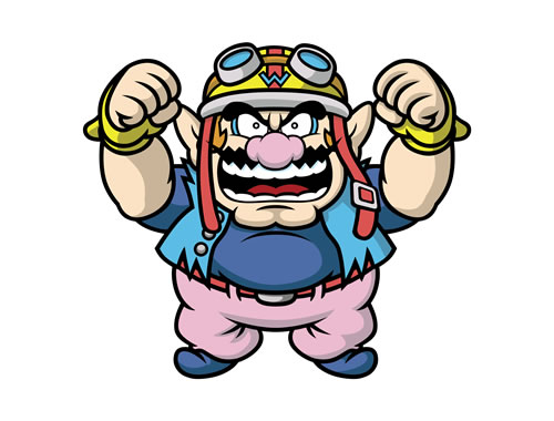Wario 1 in Game and Wario
