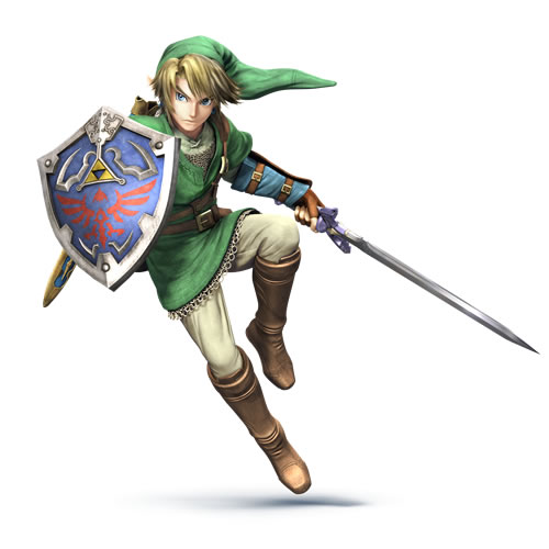 Link in Super Smash Bros