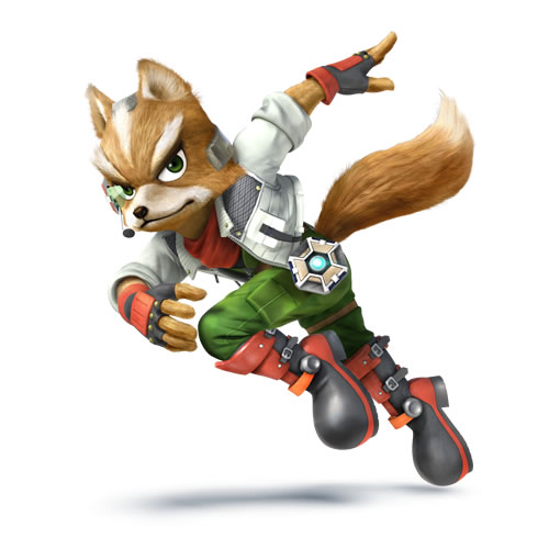 Fox in Super Smash Bros