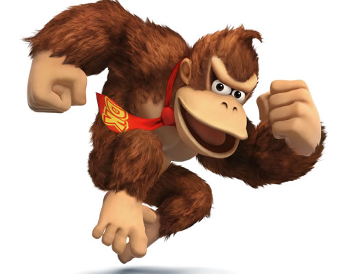 Donkey Kong in Super Smash Bros
