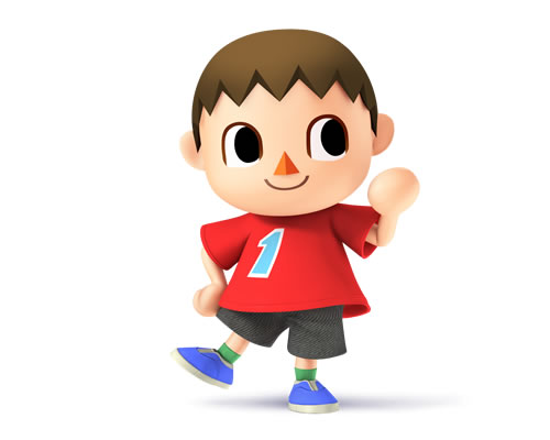 Villager in Super Smash Bros