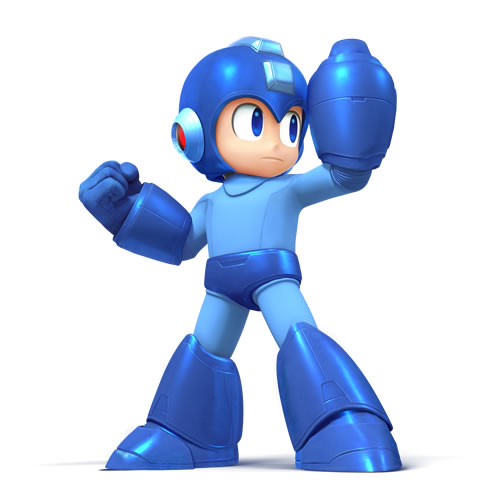 Mega man in Super Smash Bros
