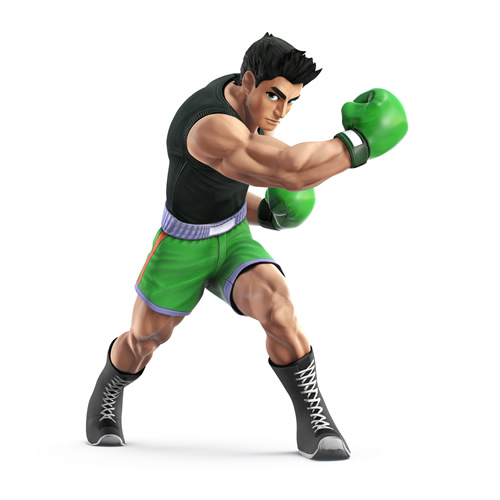 Little Mac from Punchout in Super Smash Bros