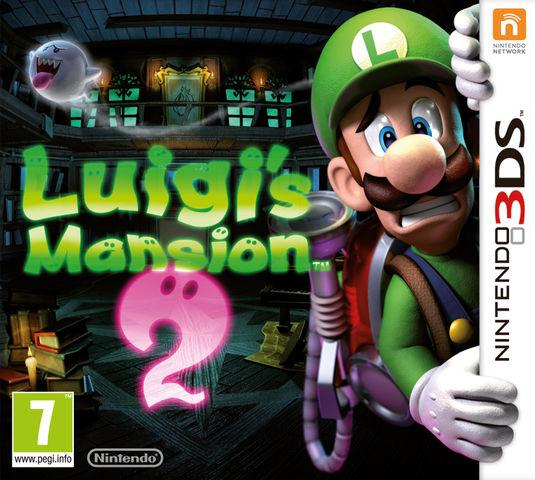 Luigi's Mansion 2: Dark Moon European boxart