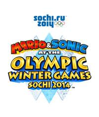 Mario & Sonic at the Olympic Winter Games 2013 logo