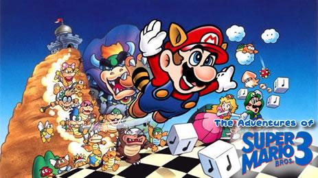 Adventures of Super Mario Bros. 3 header image