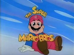 Super Mario Bros Super Show header.