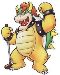 Bowser in Mario Golf