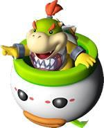 Bowser Jr in his flying potty