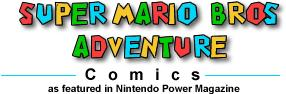 Super Mario Adventure Comics small logo