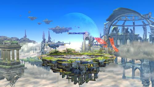Battlefield stage in Super Smash Bros Wii U and 3DS