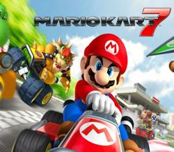 Mario Kart 7 title screen