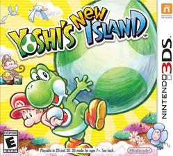 Yoshis New Island box front cover