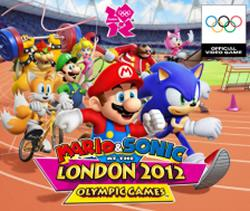 Mario & Sonic at the London 2012 Olympic Games title screen