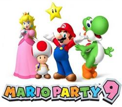 Mario Party 9 title screen