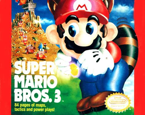 An 84 page guide to Super Mario Bros. 3 in Nintendo Power Magazine Volume 13