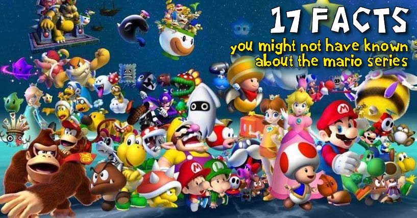 17 Fun Facts about the Mario series