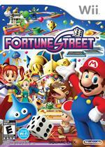Fortune Street aka Boom Street box cover on the Wii