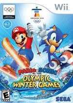 Mario & Sonic at the Olympic Winter games on Wii